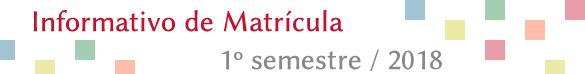 Informativo de Matrícula